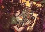 Magical Workspace (artcontest)