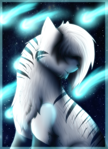 Cometshower by xCrowwingx