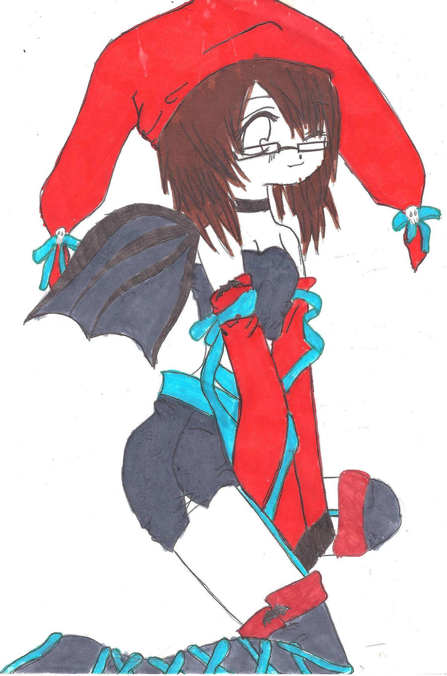 Anime Jester Characters : My jester girl a character from story by