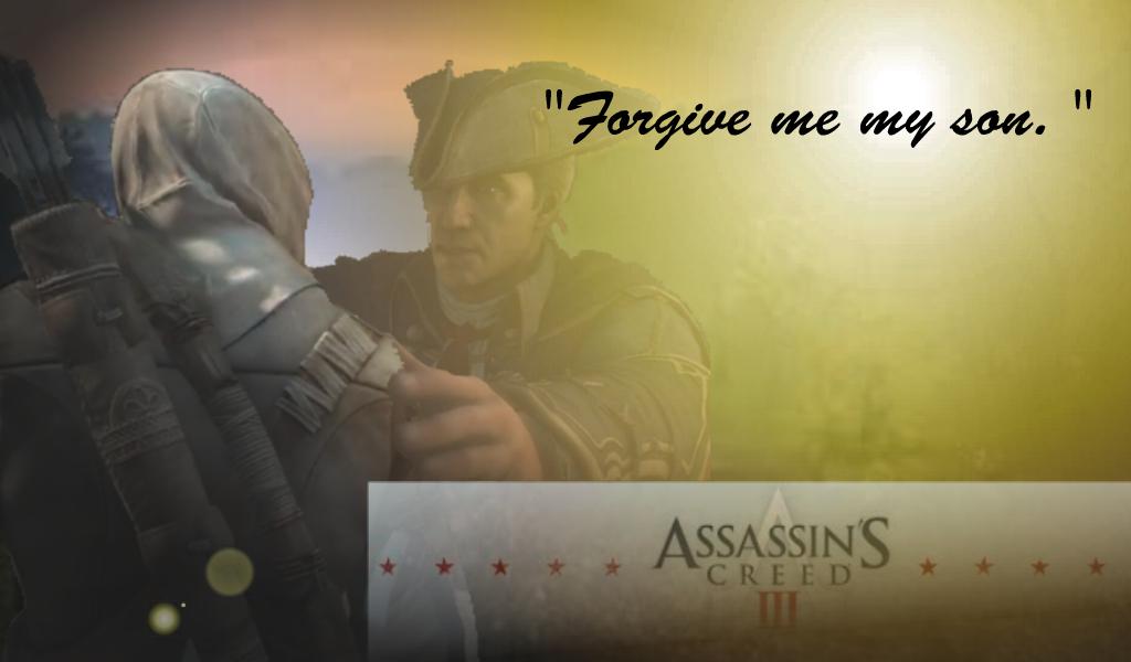 Connor and Haytham Kenway. Forgiveness by Eddmspy