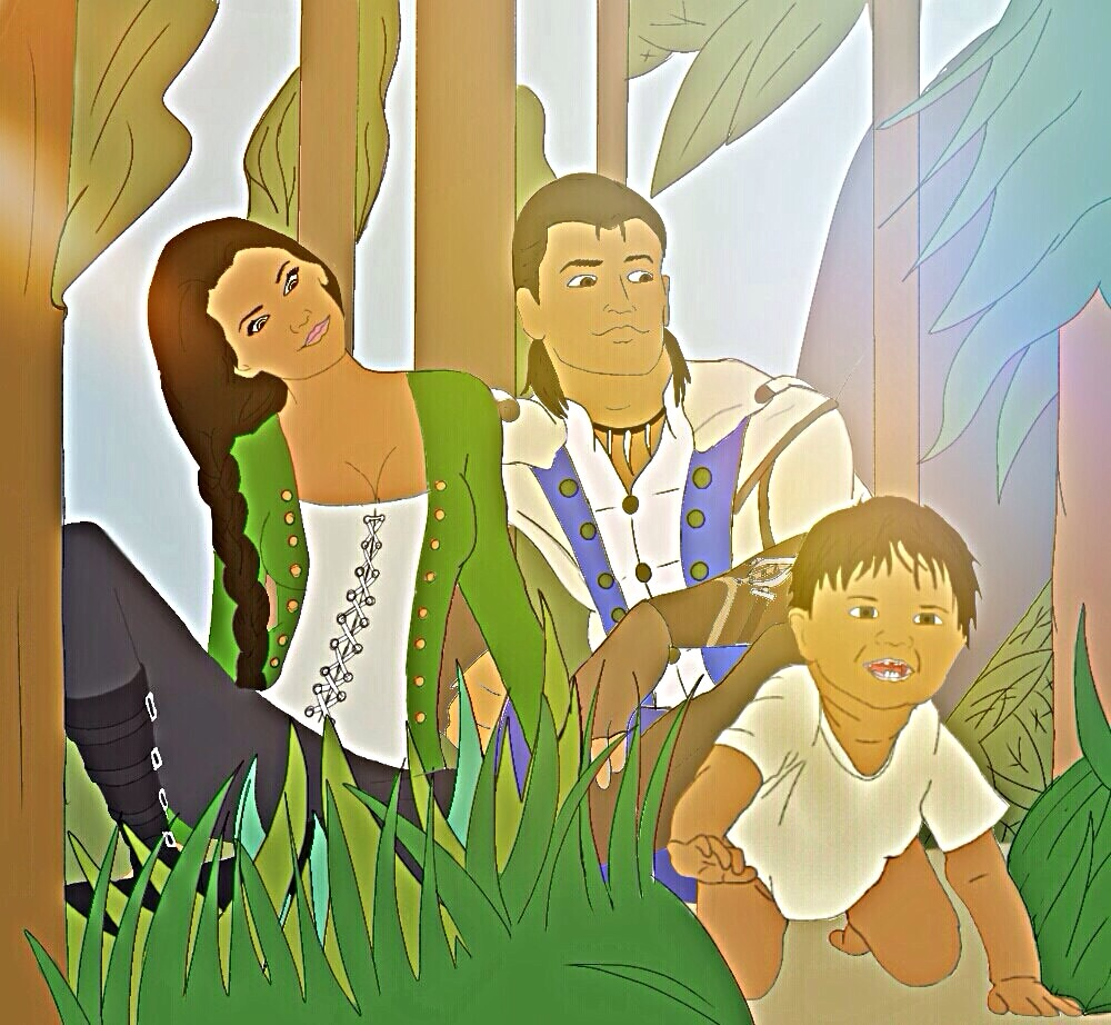 A Happy Family Paradox Rising by Eddmspy