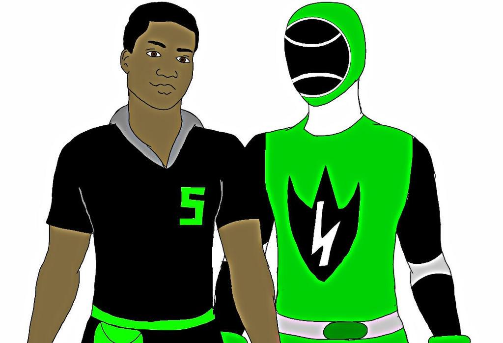 Green Energy Ranger! Jason Nadal by Eddmspy