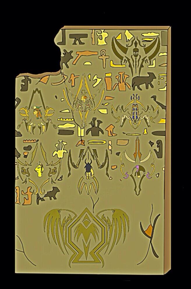 Ancient Age Wall. Power Rangers OC by Eddmspy