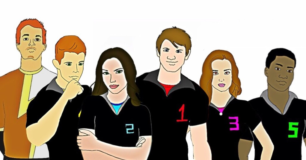 Power Rangers Sports Energy! Together. by Eddmspy