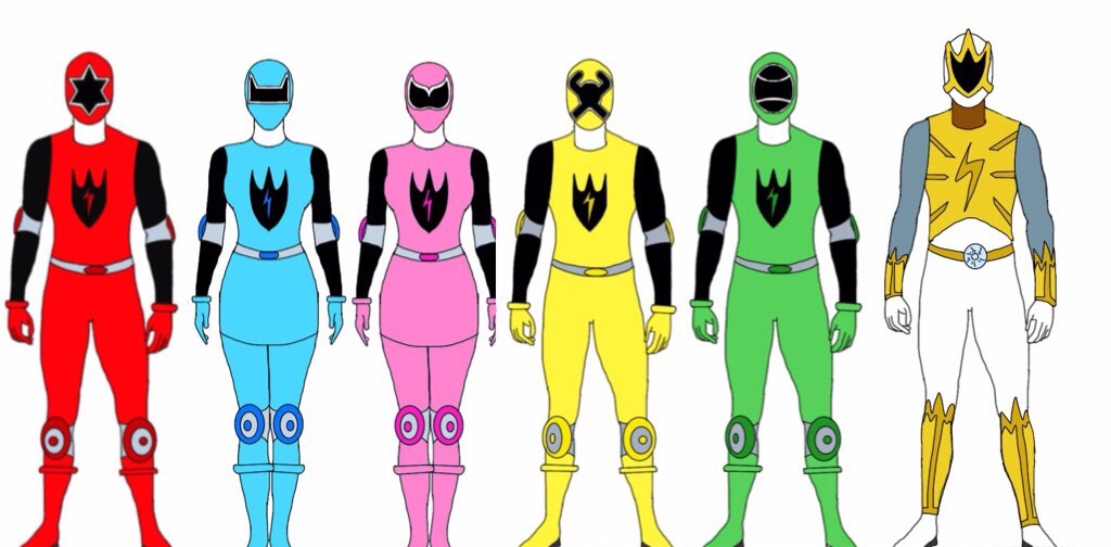 Power Rangers Sports Energy by Eddmspy