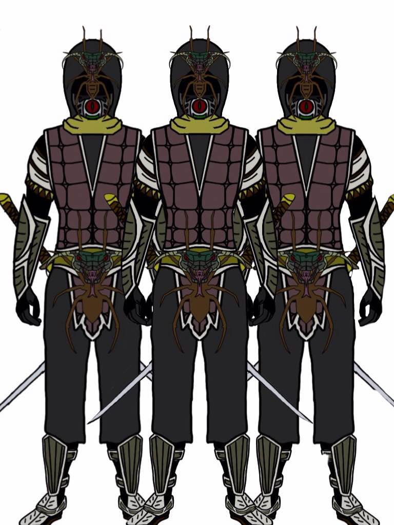 Power Rangers Slayer. Foot soldiers. Updated! by Eddmspy