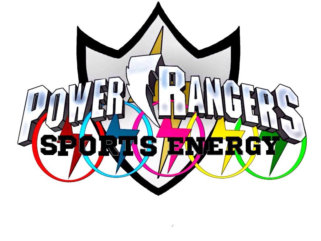 Power Rangers Sports Energy logo. by Eddmspy