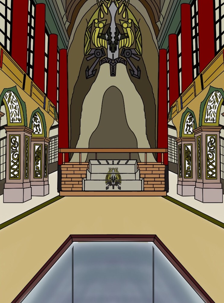 Power Rangers Slayer Temple by Eddmspy