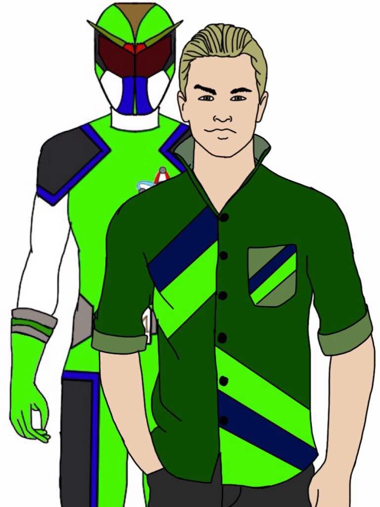 Cody Jacobs, Green System's Ranger by Eddmspy