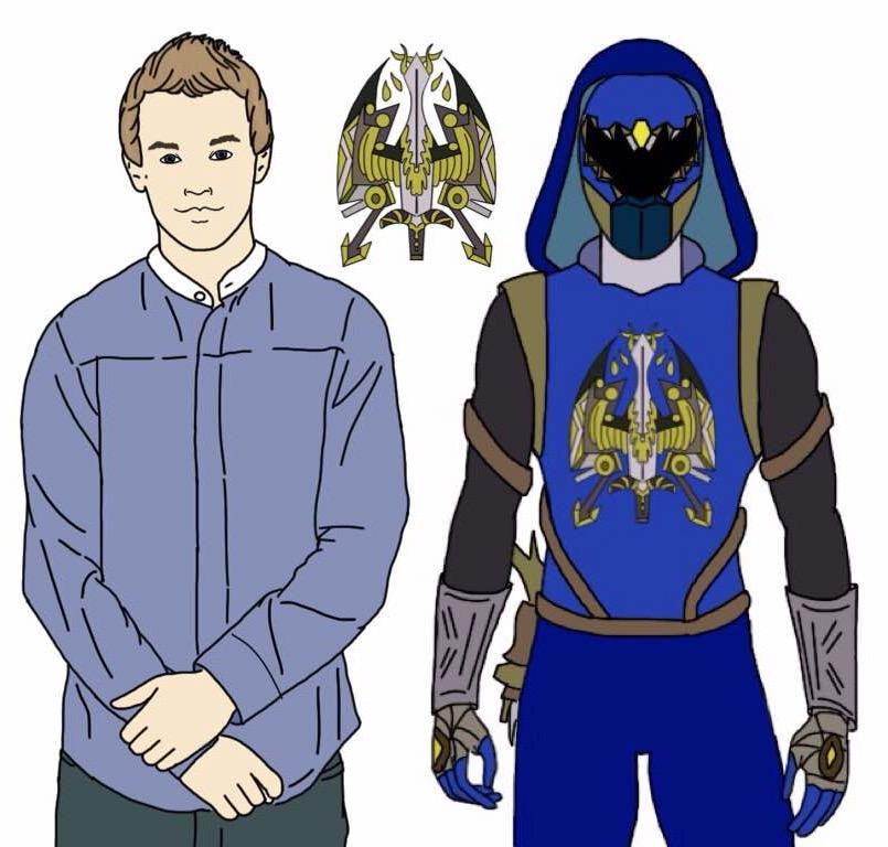Blue Slayer Ranger (Updated!) by Eddmspy