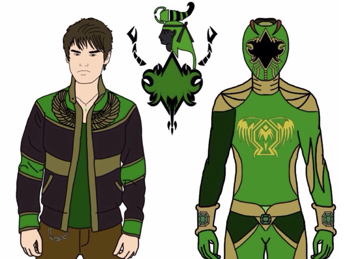 UPDATED! Joshua Ricci-Ancient Age Green Ranger by Eddmspy