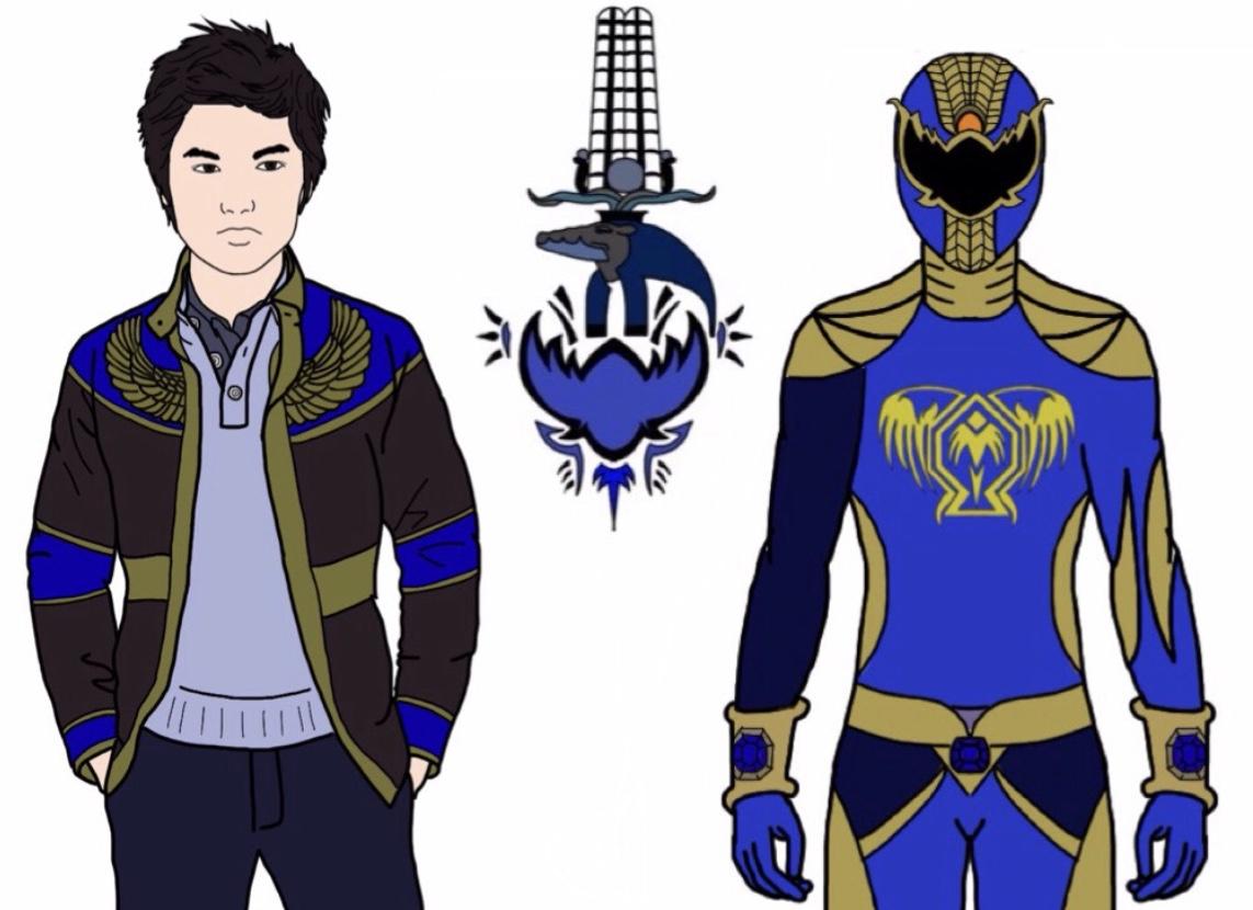 UPDATED! Felix Abe-Ancient Age Blue Ranger by Eddmspy