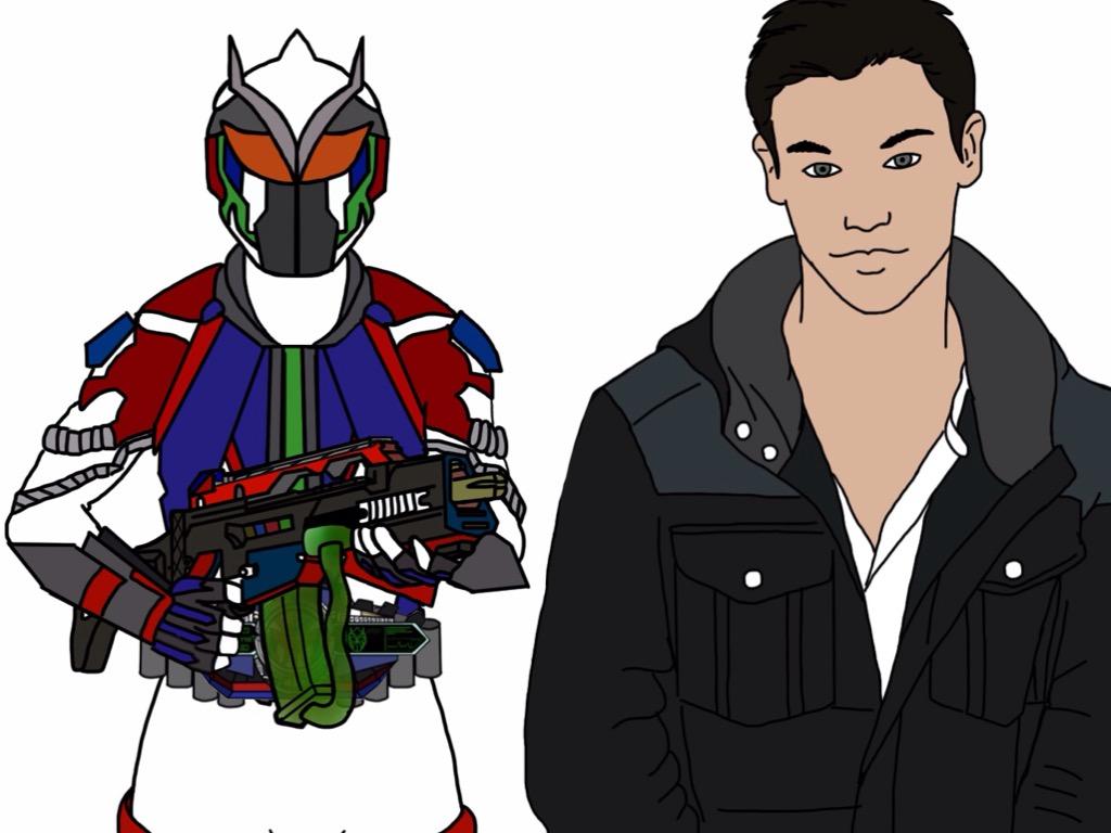 Kamen Rider Axiom by Eddmspy