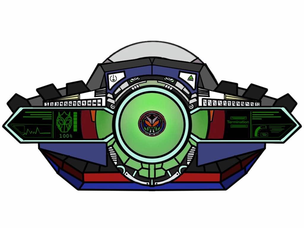 Kamen Rider Axiom Driver Belt. by Eddmspy