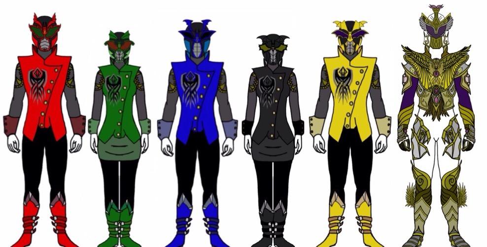 Power Rangers Rogue Blood by Eddmspy