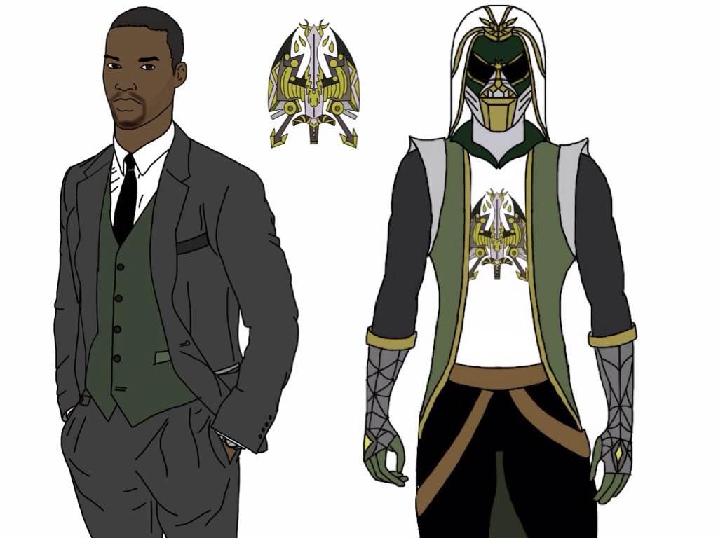 Vance, Paladin Hunter (Power Rangers Slayer) by Eddmspy