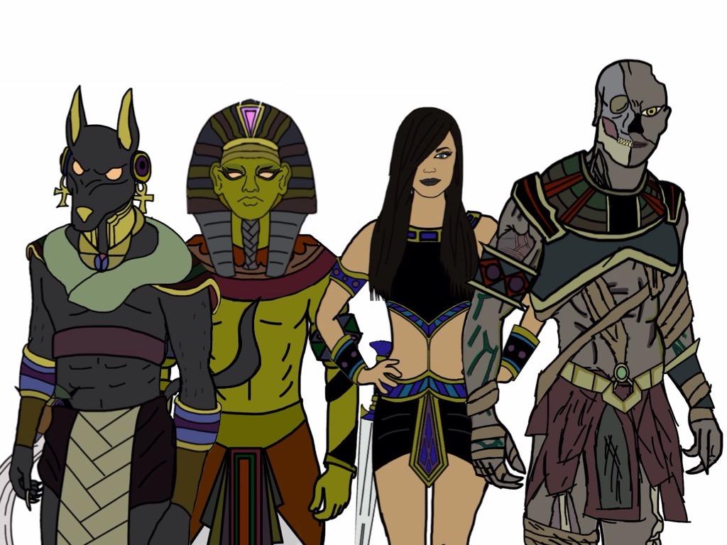Power Rangers Ancient Age villains by Eddmspy