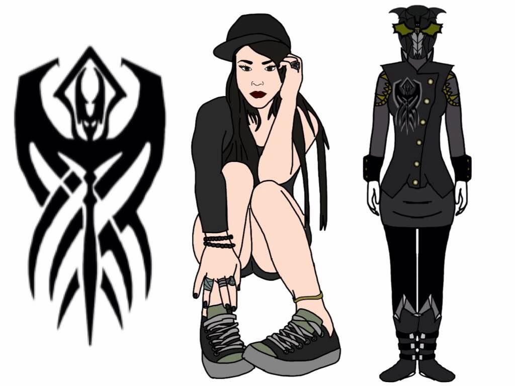 Verity-Power Rangers Rogue Blood. Black Ranger by Eddmspy
