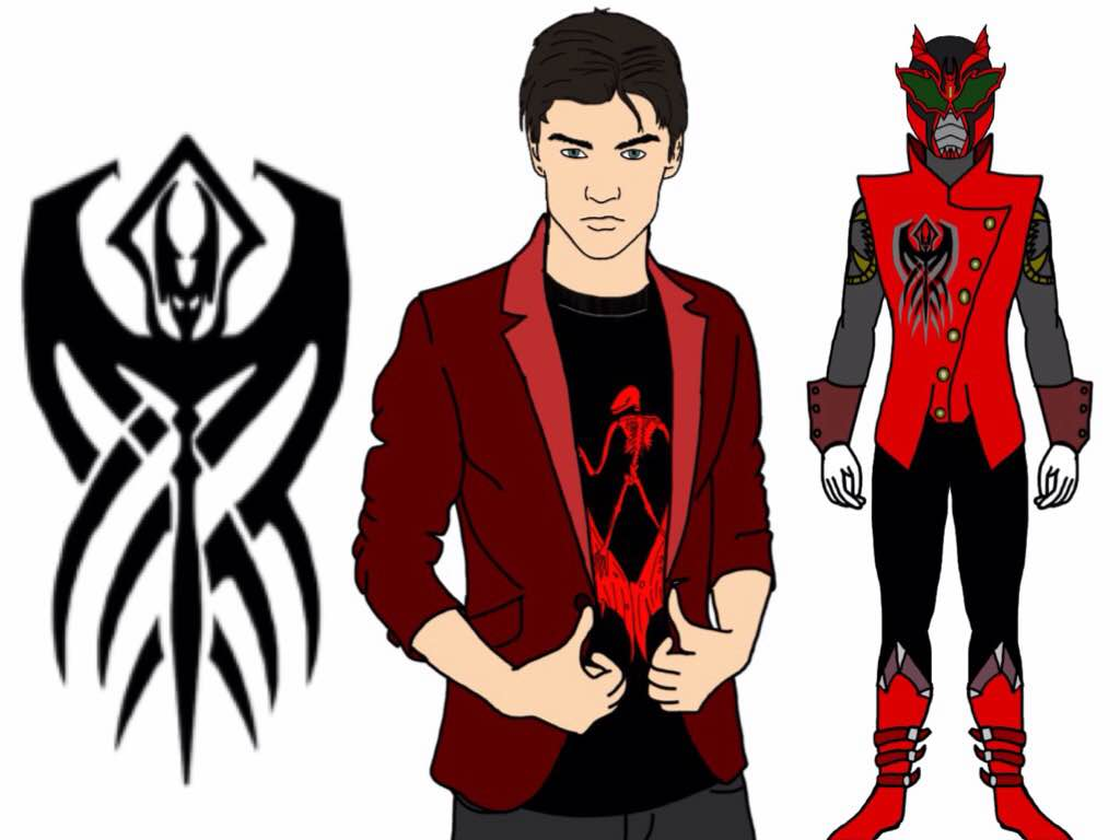 Drachen-Power Rangers Rogue Blood. Red Ranger. by Eddmspy