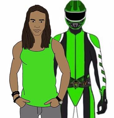 Caleb Blanco, Green Enduro Ranger. by Eddmspy