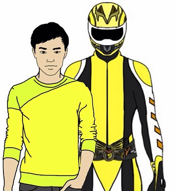 Dylan Chou, Yellow Enduro Ranger. by Eddmspy