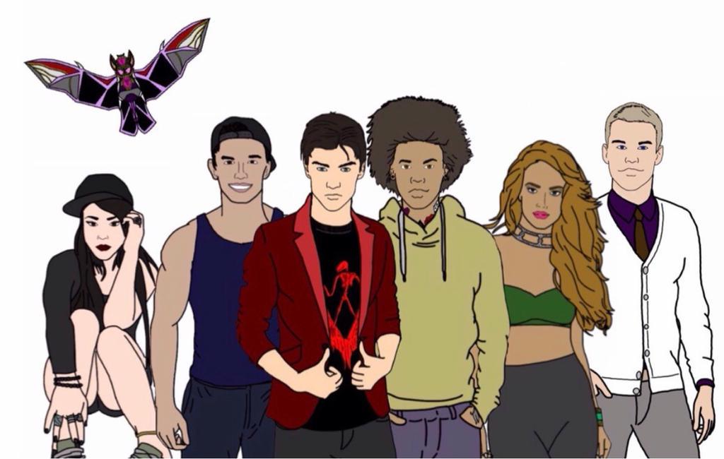 Power Rangers Rogue Blood Together-Civilian Form by Eddmspy