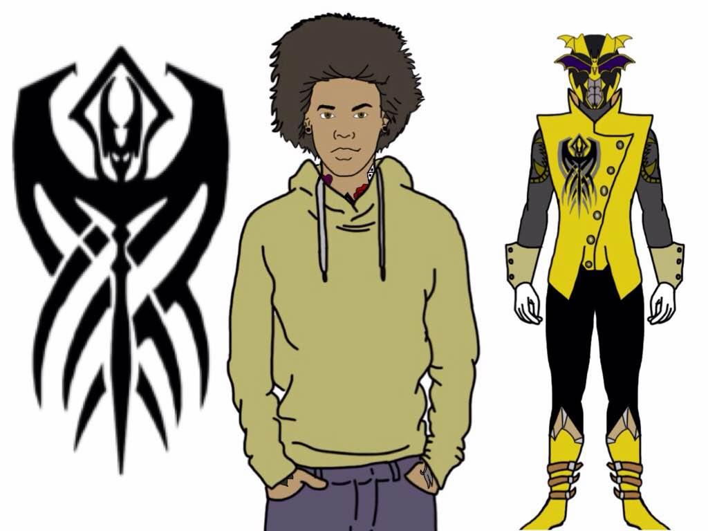 Yellow Rogue Blood Ranger by Eddmspy