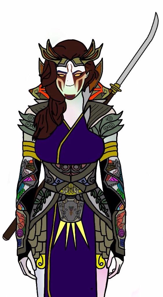 Kumori. Power Ranger Slayer (Villian) by Eddmspy