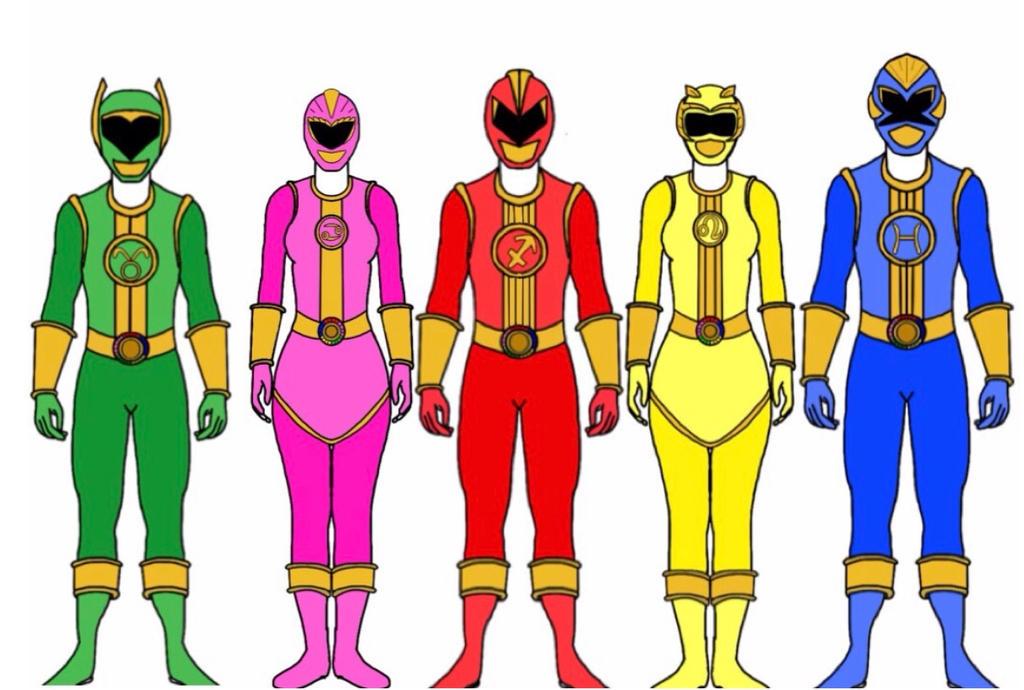 Power Rangers Zodiac by Eddmspy