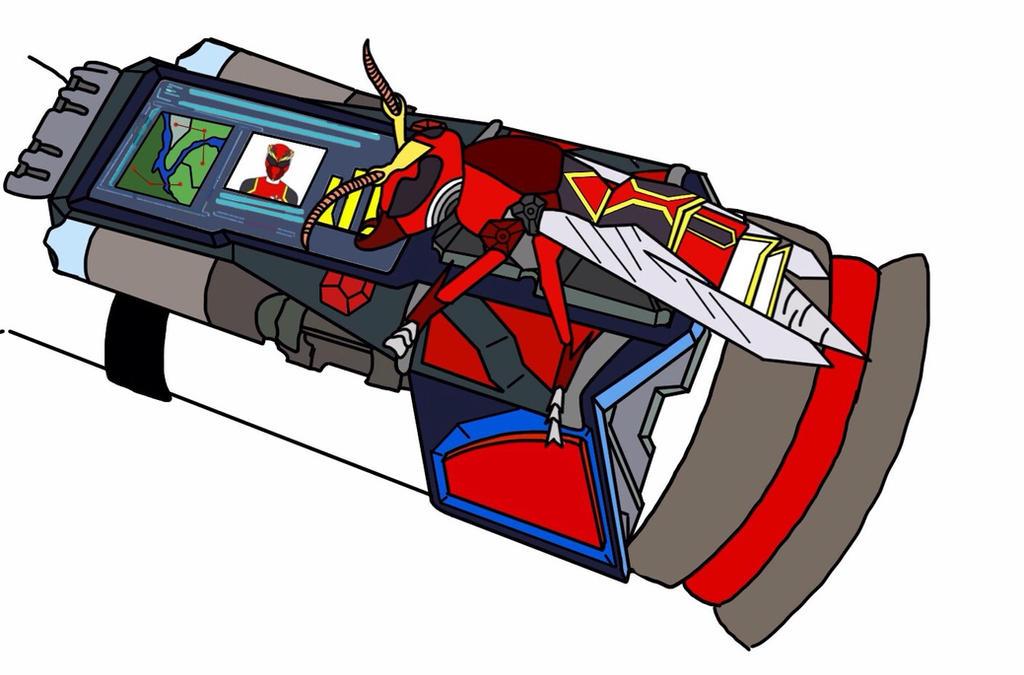 Nexus Morpher. Power Rangers Systems Impact. by Eddmspy