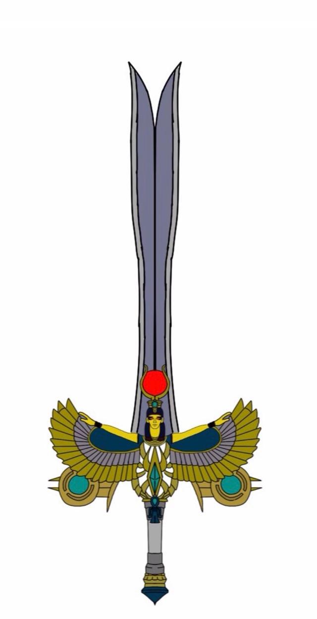 Power Rangers Ancient Age Zircon Sword by Eddmspy