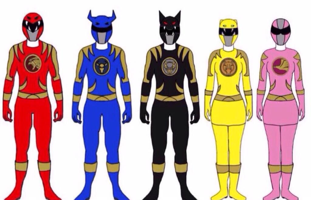 Power Rangers Savage Guardians by Eddmspy