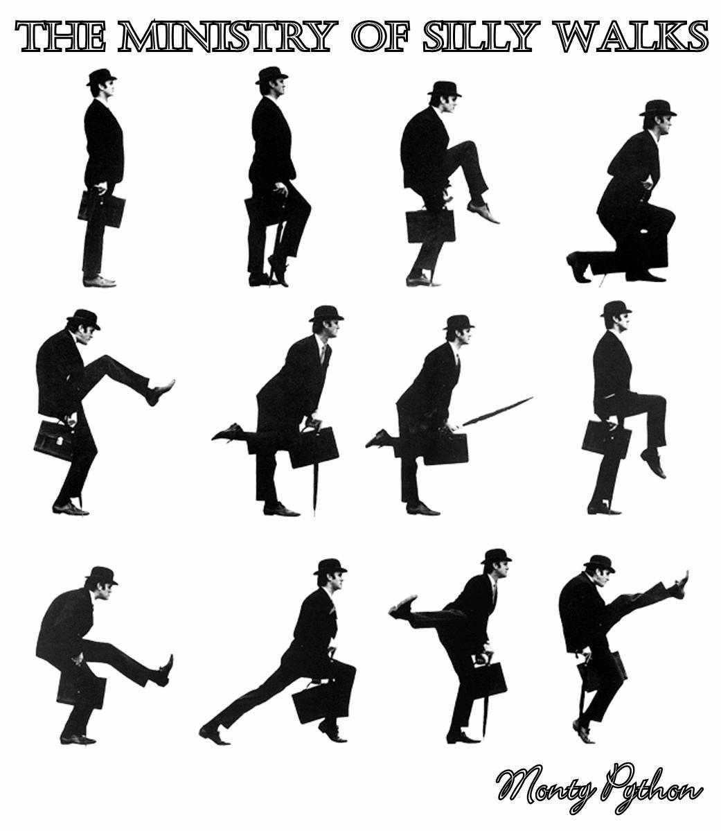 Рисунок походки человека картинка 4