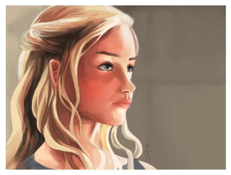 Daenerys Targaryen by Gibrayel