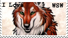 I love WSW Stamp by silent33
