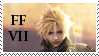 FF VII Stamp by silent33