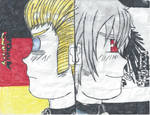 Germany And Prussia back to back by zimlvr360