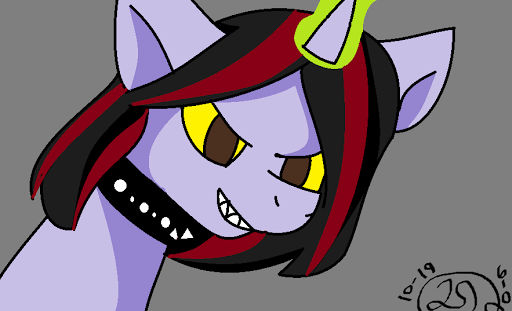 This is my friend as a ponie