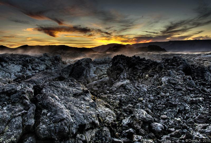 Volcanic Sun by derek-k