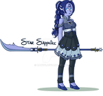 SU OC: Star Sapphire