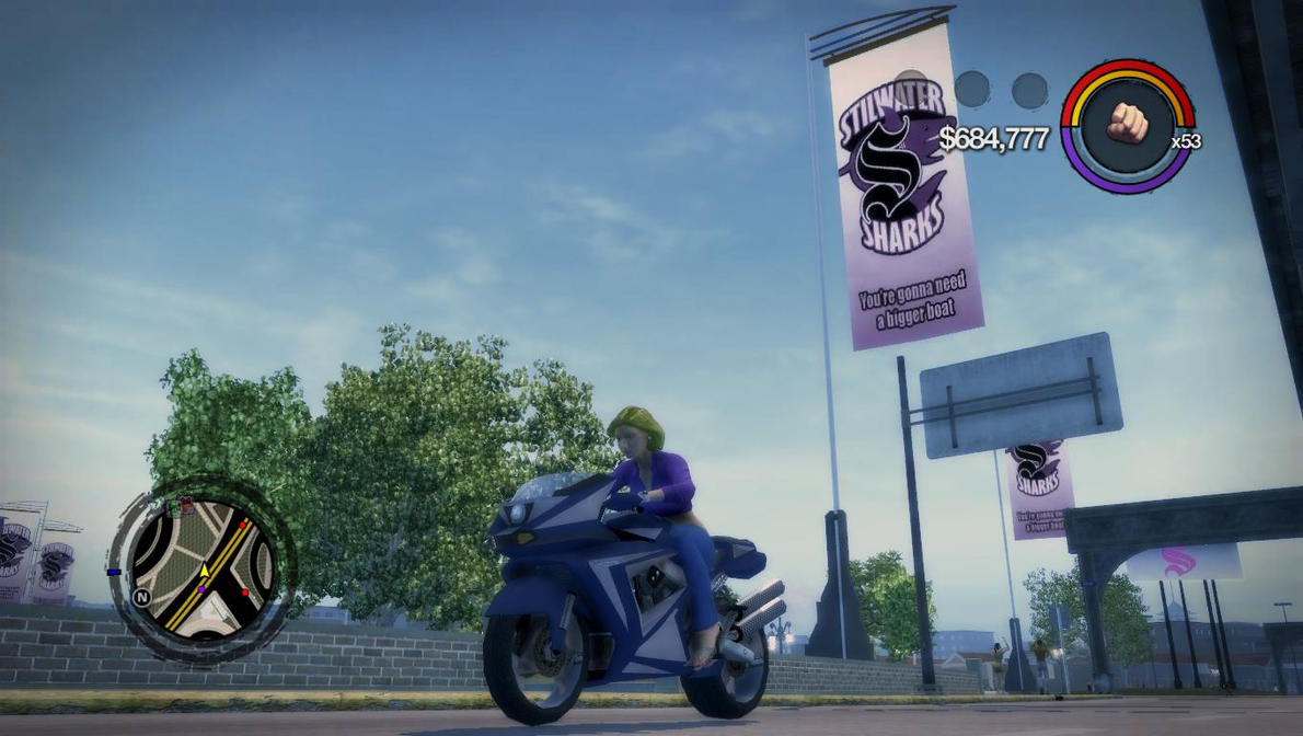 how to change fighting style in saints row 2