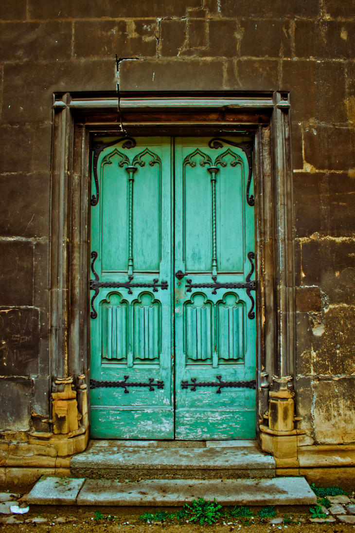 Old Door by de-ck on DeviantArt