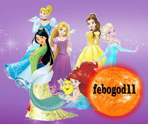 Disney Princess Sweets by febogod11
