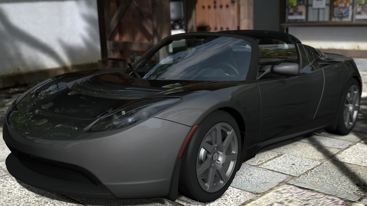 Pubg By Sodano On Deviantart: Tesla Roadster S By Zandor95 On DeviantArt