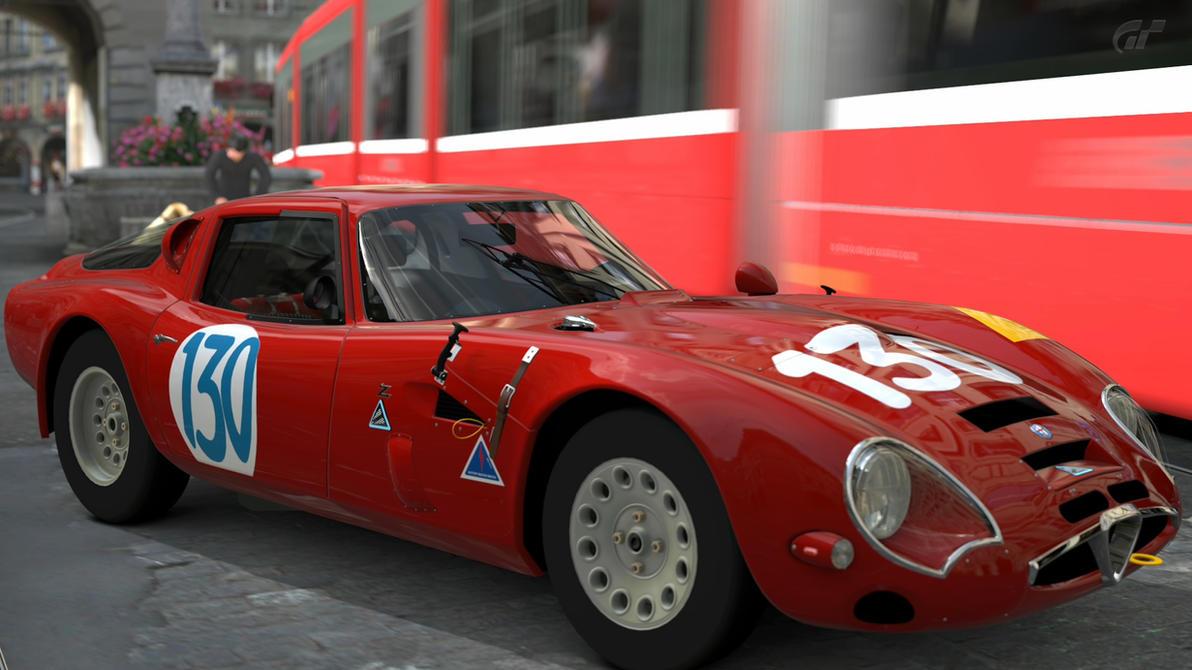 1965 ALFA ROMEO GIULIA TZ2 CARROZZATA DA ZAGATO CN by zandor95 on