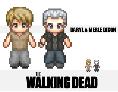 The Walking Dead : The Brothers by IzId0r