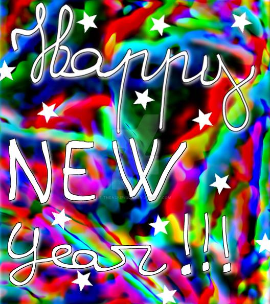 Happy new year by TheAskewBox
