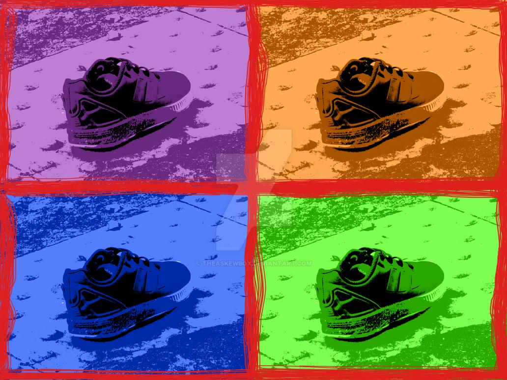 A lonely little sneaker by TheAskewBox