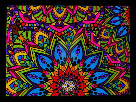 A Flower Mandala