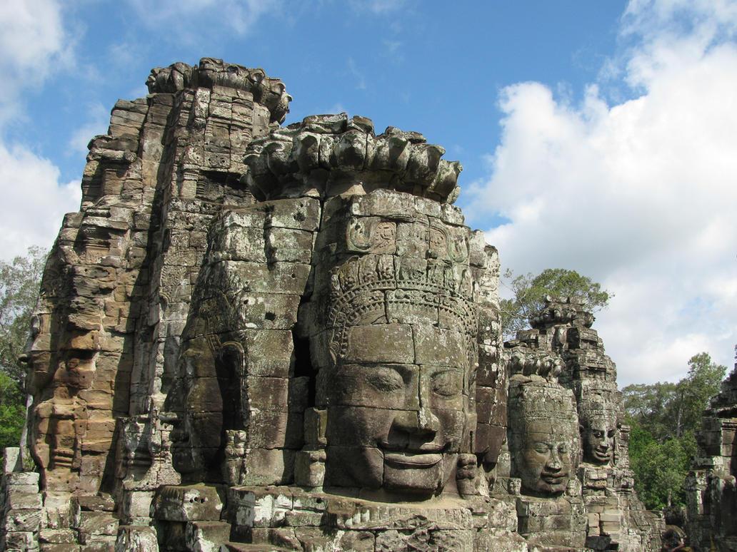 Cambodia - Angkor Wat 4 by solarka-stock
